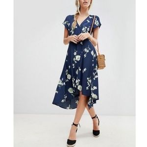 Free People Lost in You Midi Dress High Low NWT